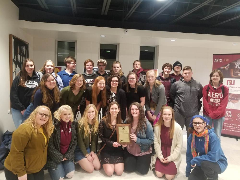 Madison Wins Superior at State One Act Festival!