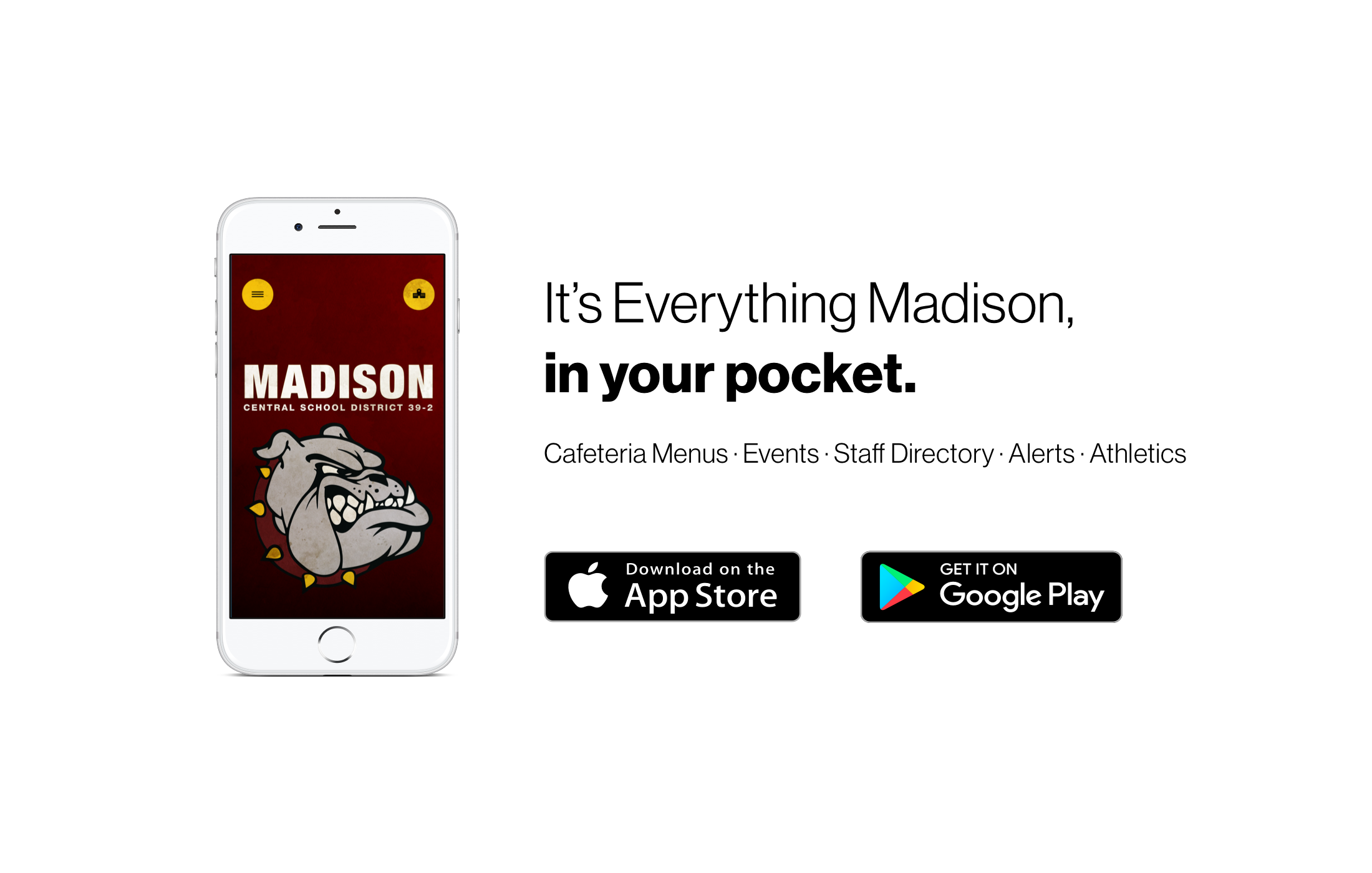 Madison App Announcement